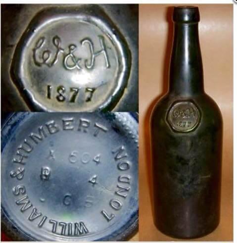 Botella antigua